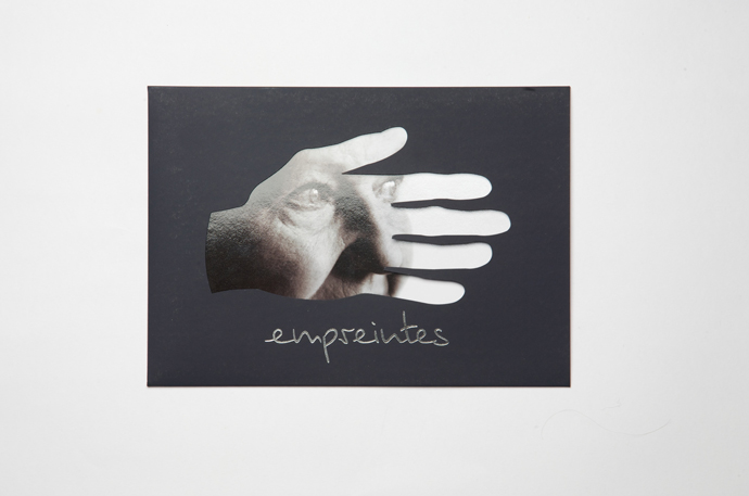 Empreintes<br/> le catalogue<br/>invitations