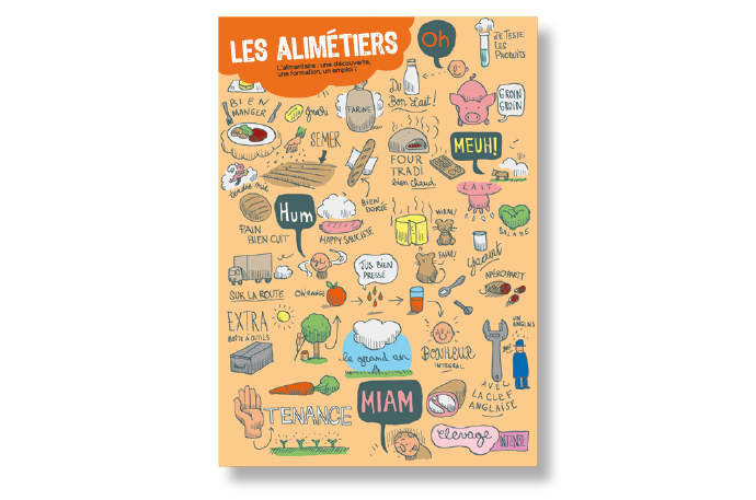 les Alimétiers – illustrations